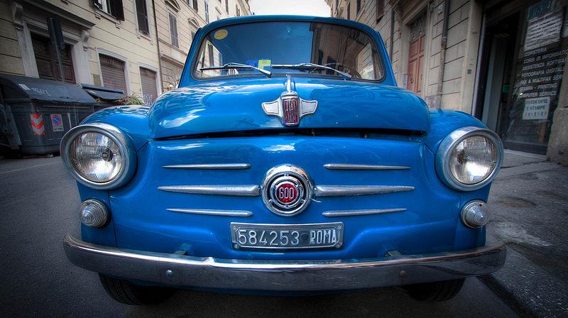 Una Fiat del 600 del 1955