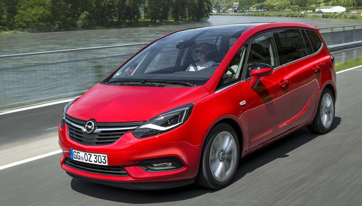 Opel Zafira tecnologia