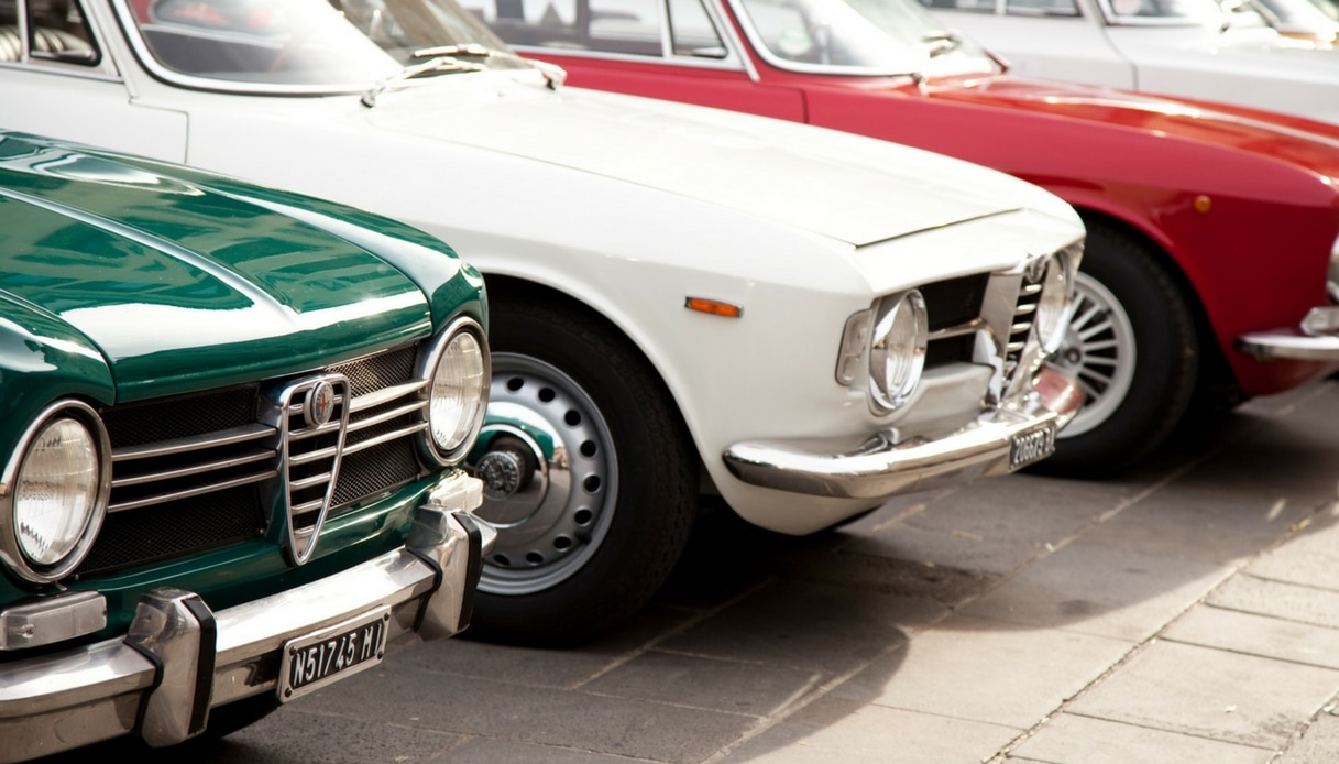 Auto d'epoca, ecco i modelli più desiderati dagli italiani