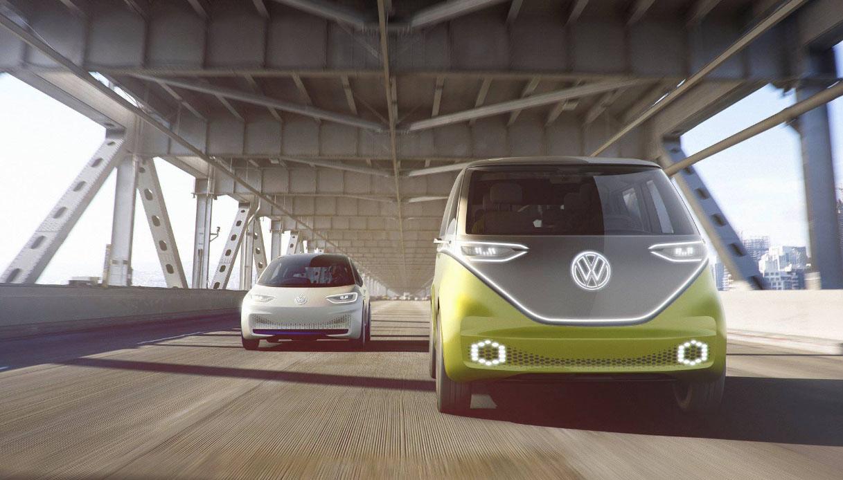 Volkswagen ufficializza la produzione di I.D. Buzz, il van elettrico per nostalgici
