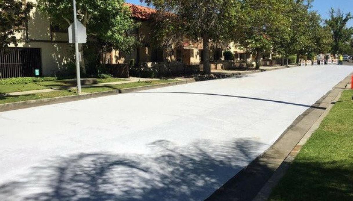 asfalto bianco