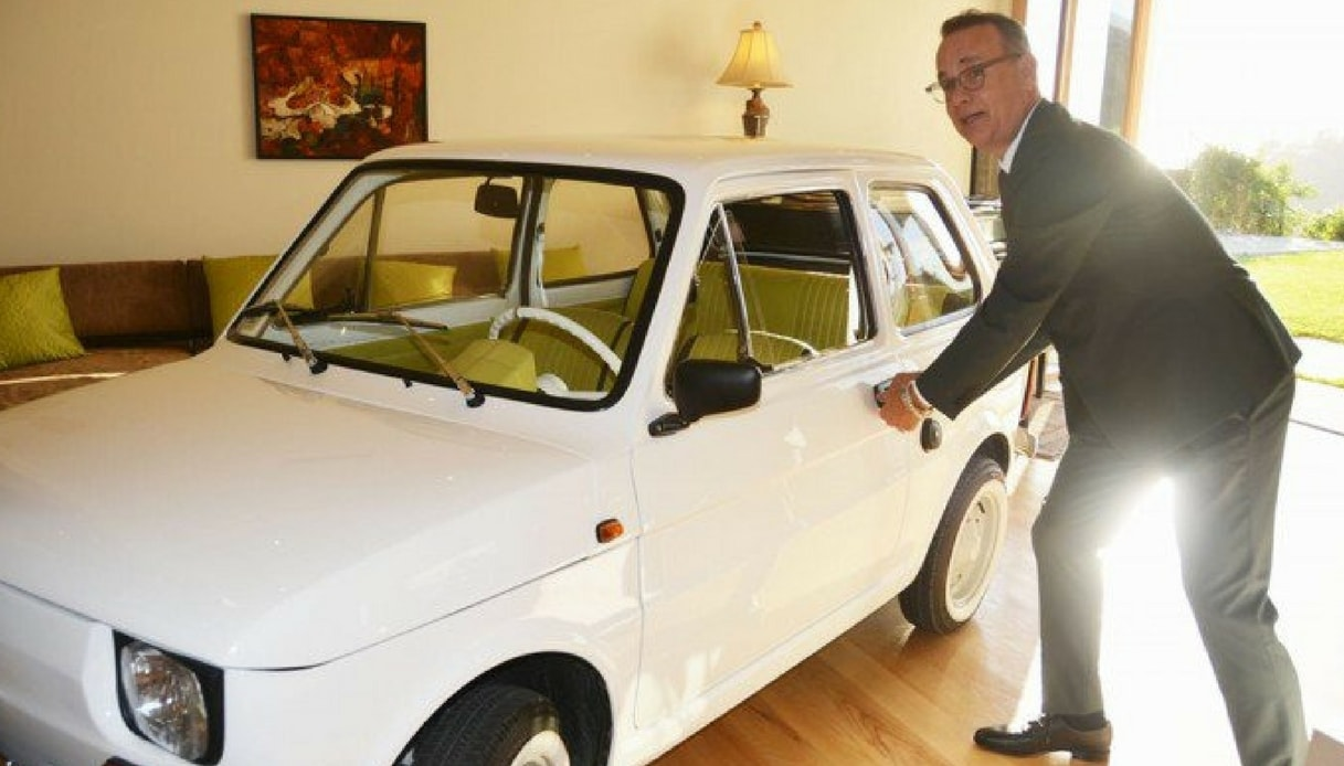 Tom Hanks Fiat 126