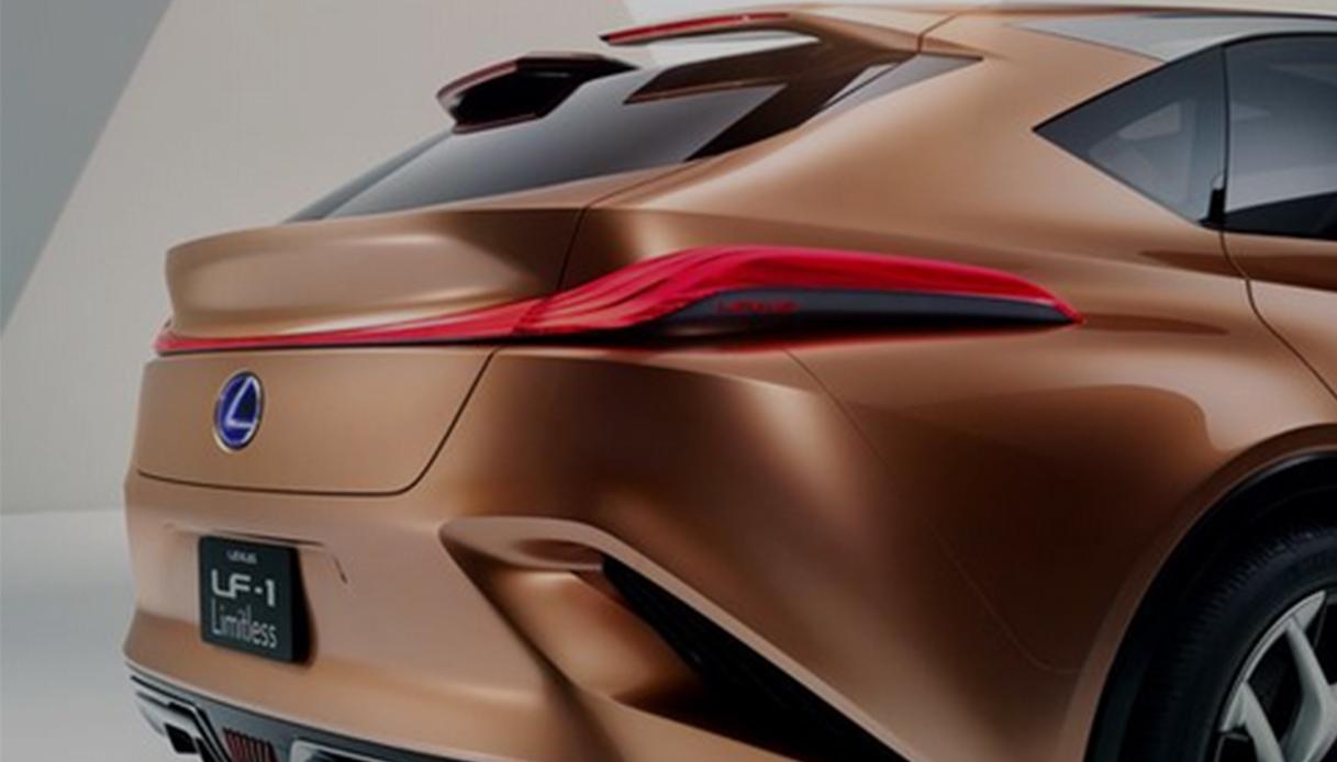 Lexus LF1 dettaglio posteriore