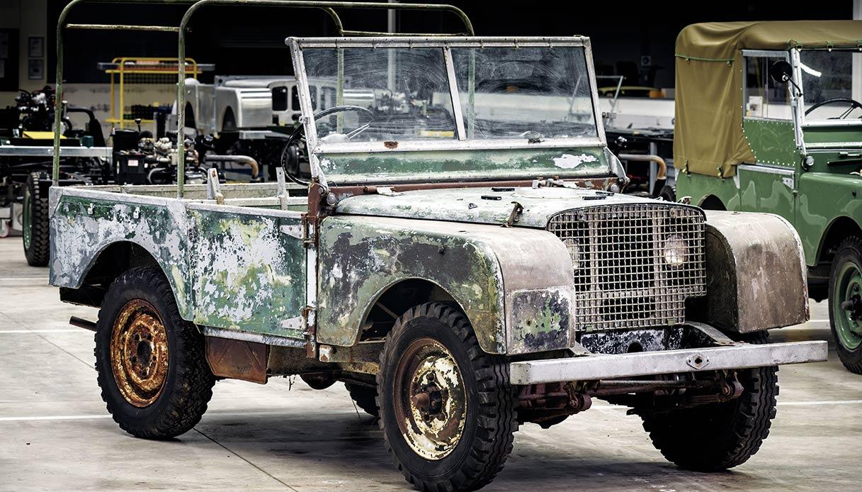 Prototipo Land Rover