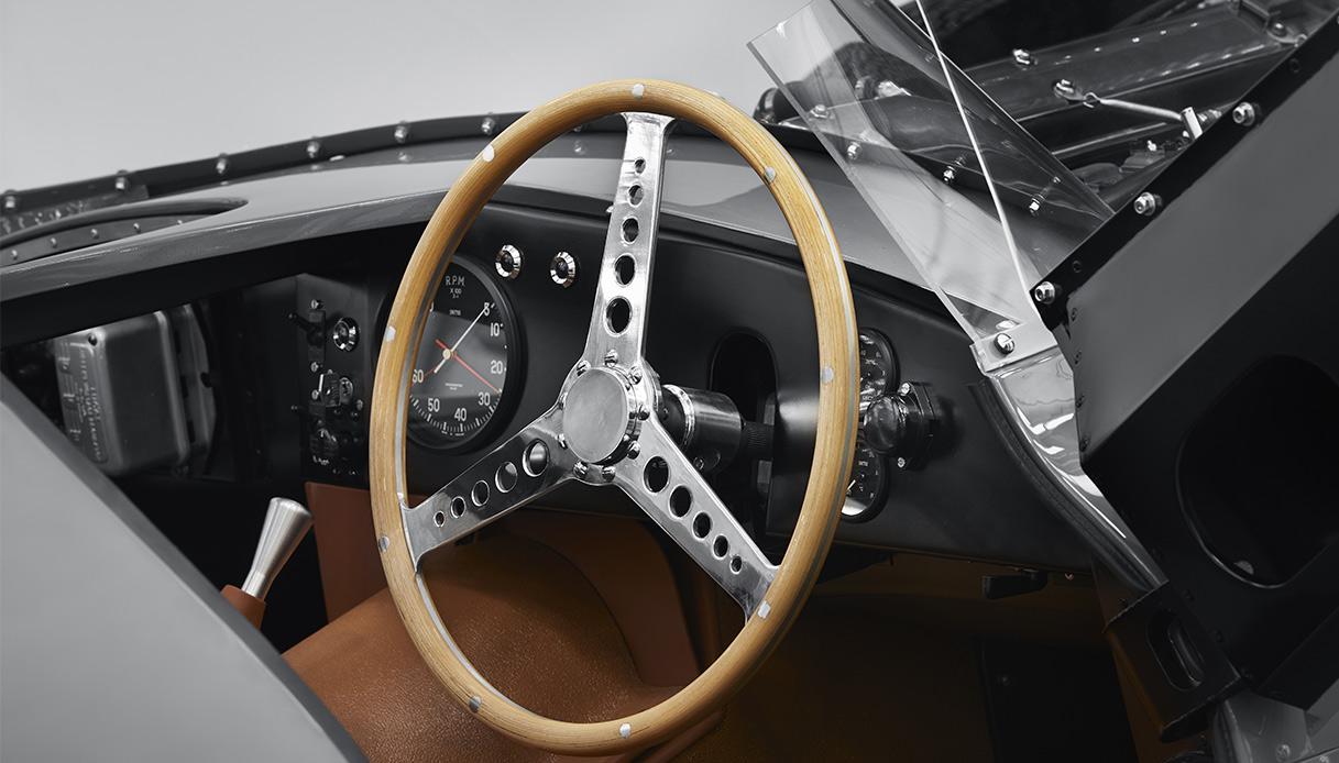 Jaguar D Type Abitacolo