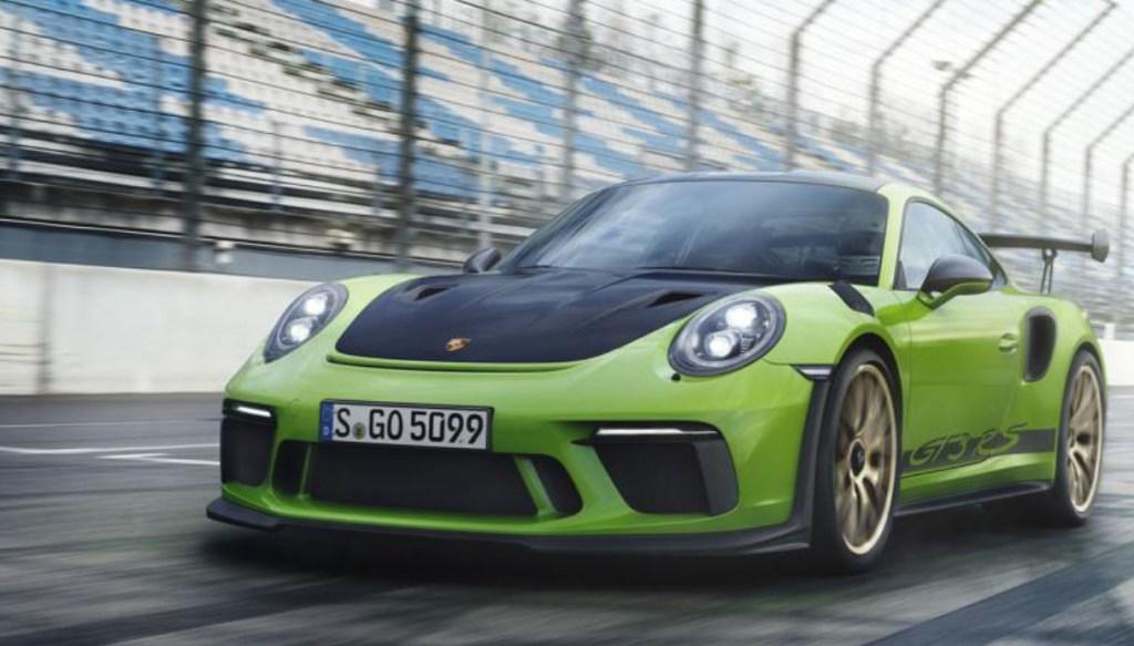 Nuova Porsche 911 GT3 RS, al Salone di Ginevra 2018 pura potenza a 520 CV