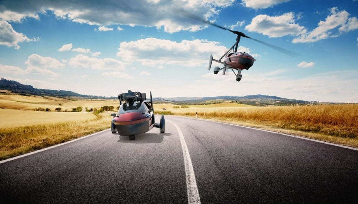 L'auto volante Liberty dell'azienda olandese Pal-V