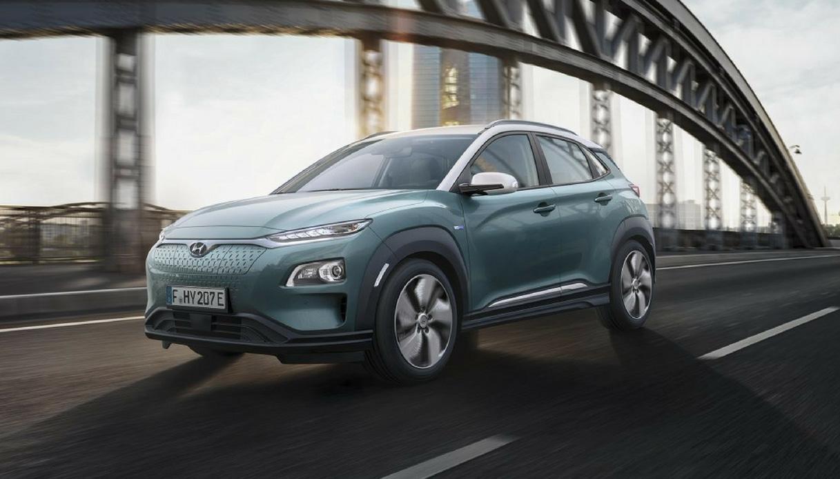 Hyundai Kona Electric, suv 100% elettrico a zero emissioni