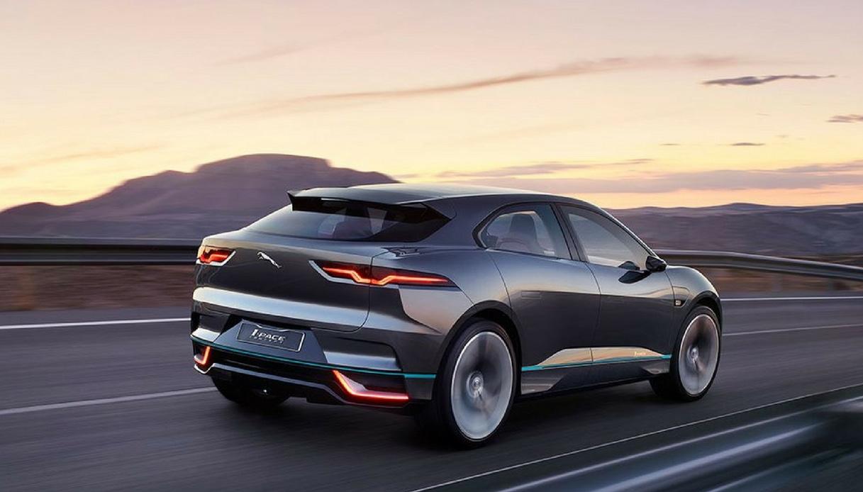 jaguar i-pace elettrica autonoma