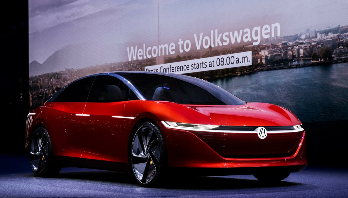 Volkswagen EV auto elettrica