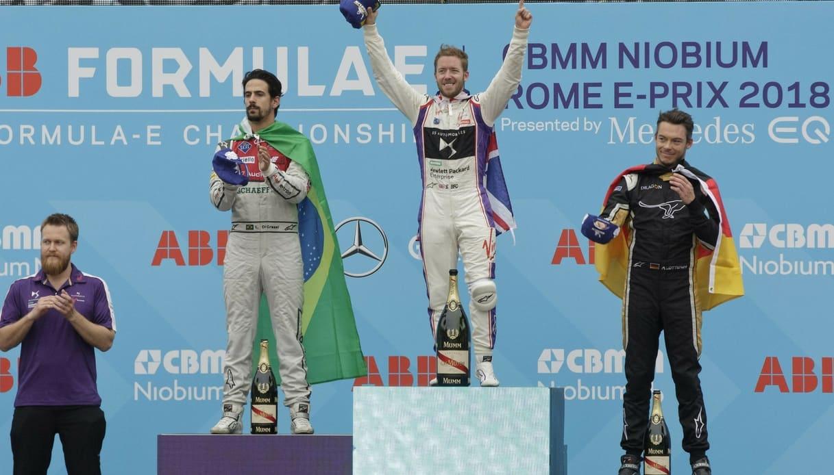 podio formula e roma