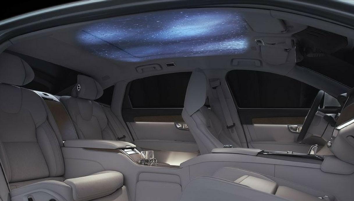 volvo s90 ambience concept - interni