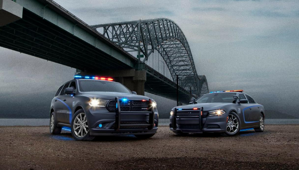 dodge durango pursuit polizia usa