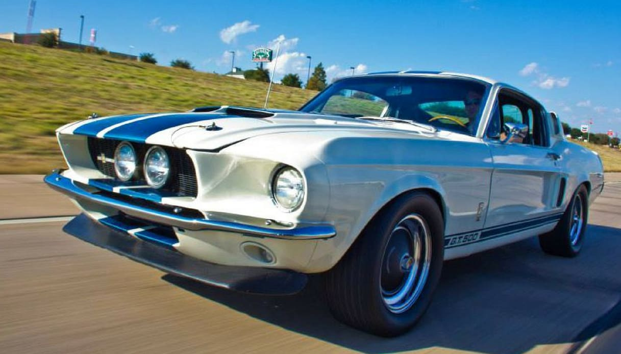 ford shelby mustang gt500 1967