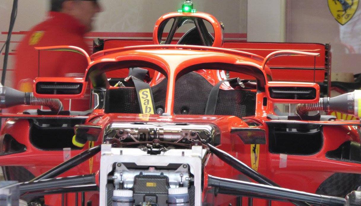 Specchietti Halo Ferrari