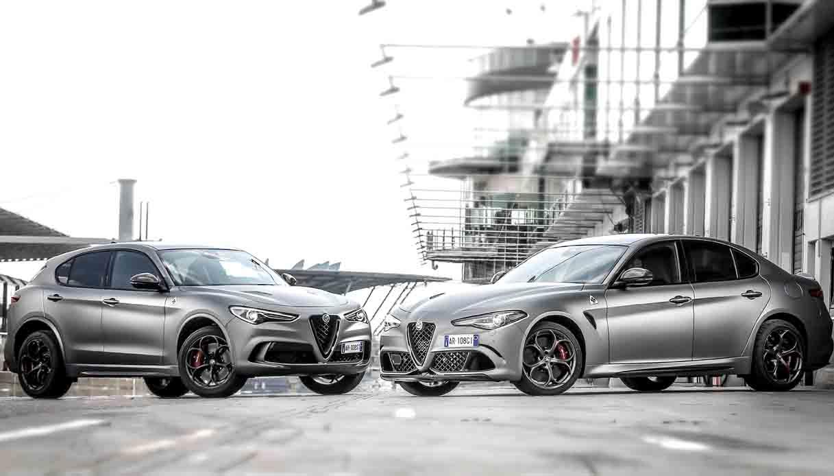 Alfa Romeo Stelvio e Giulia edizione speciale NRING
