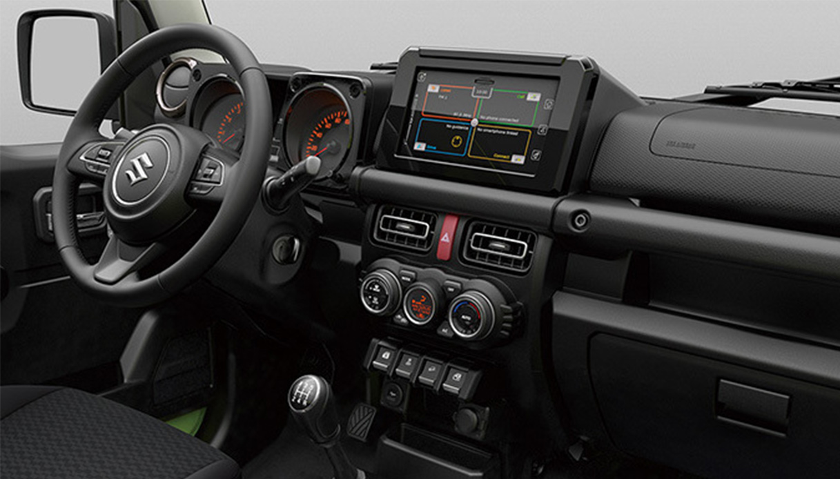 Suzuki Jimni 2018 Interno