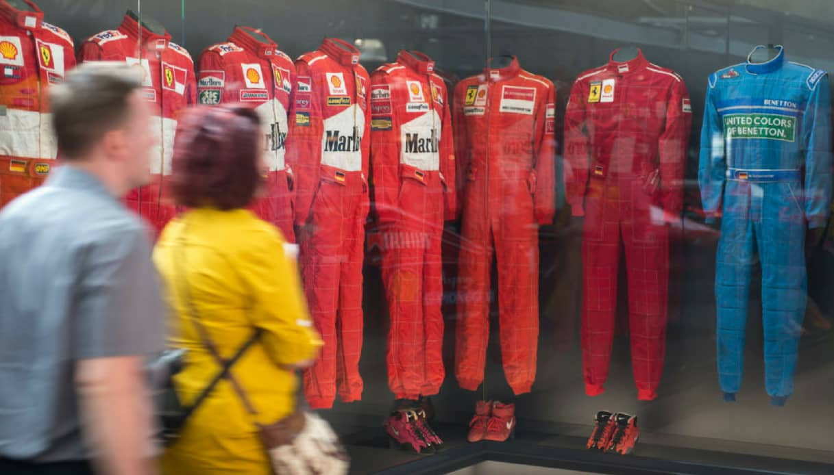 A Colonia la mostra in onore di Michael Schumacher