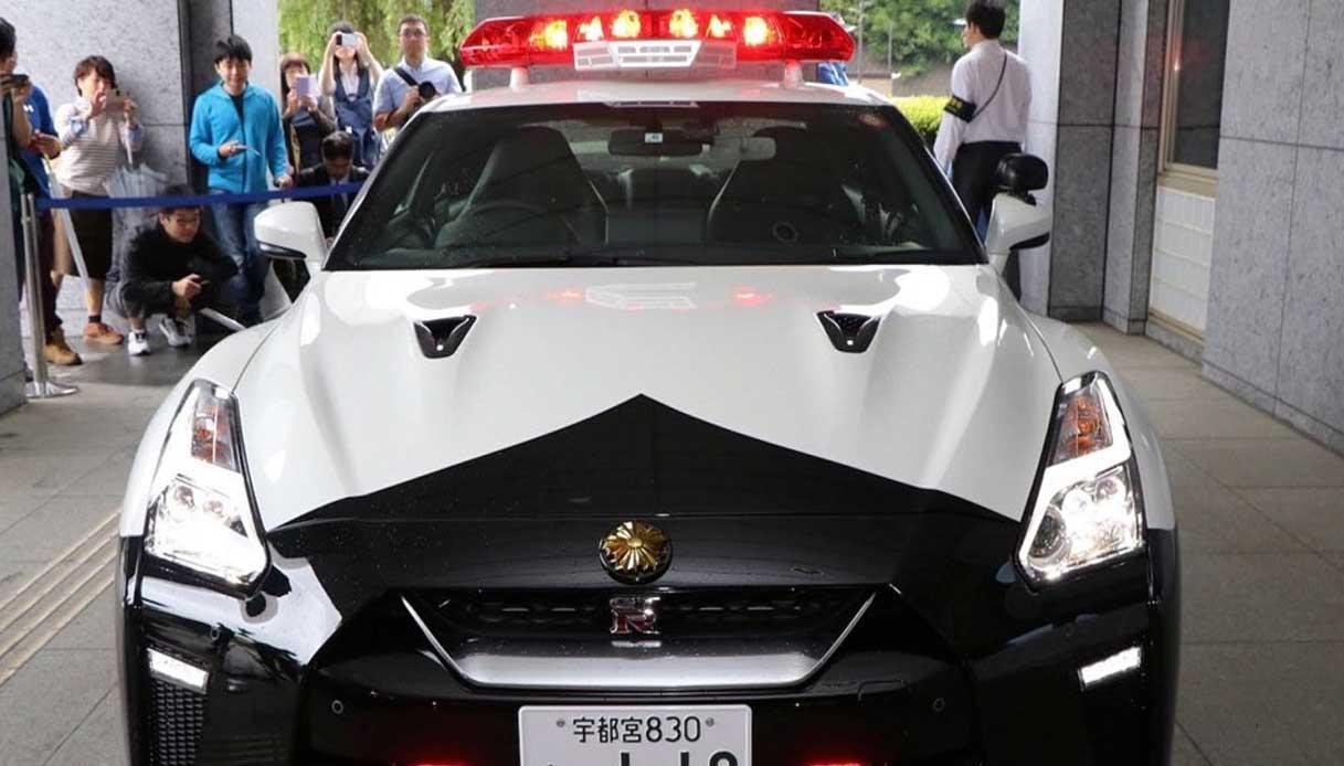 Nissan GT-R per la polizia giapponese