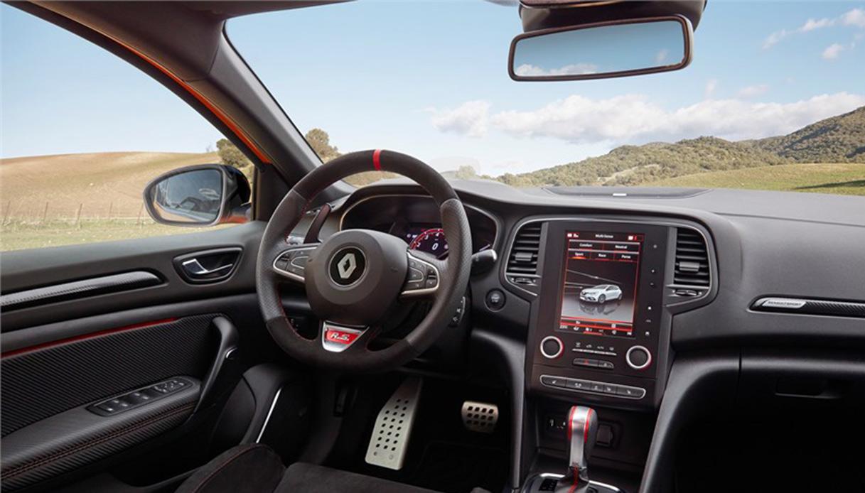 Renault Megane RS Interno