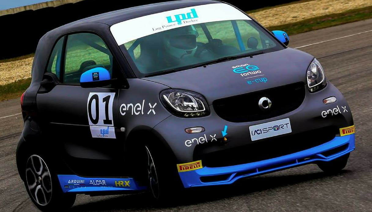smart fortwo e-cup