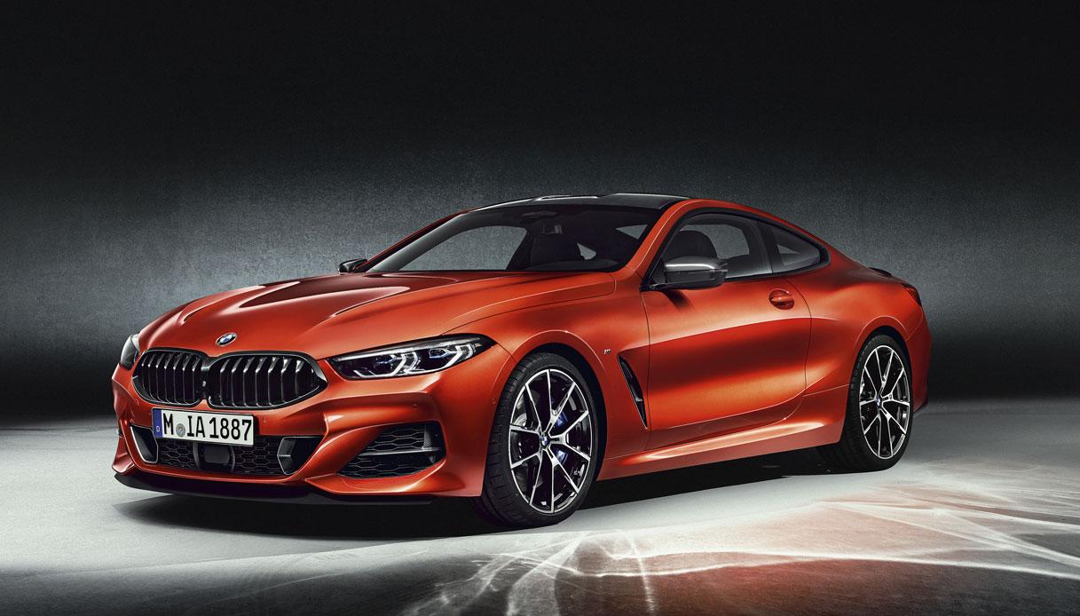 Serie 8 Coupé una BMW taglia XL