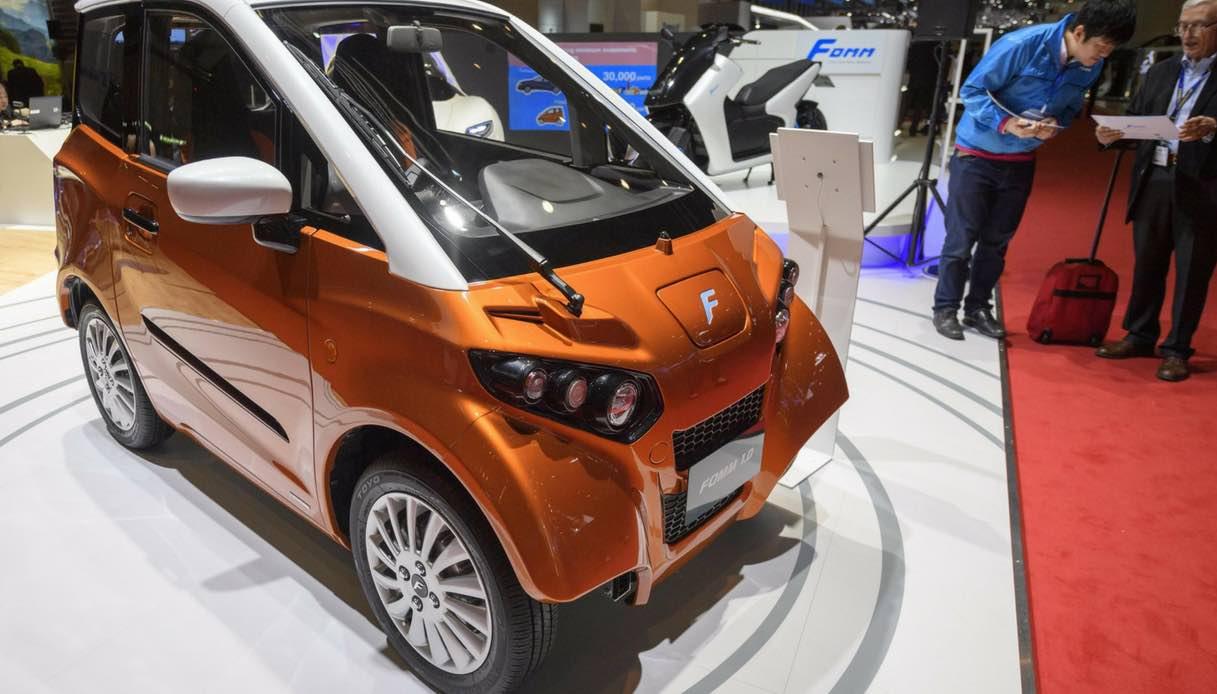 Fomm, l'auto del futuro è elettrica e anfibia