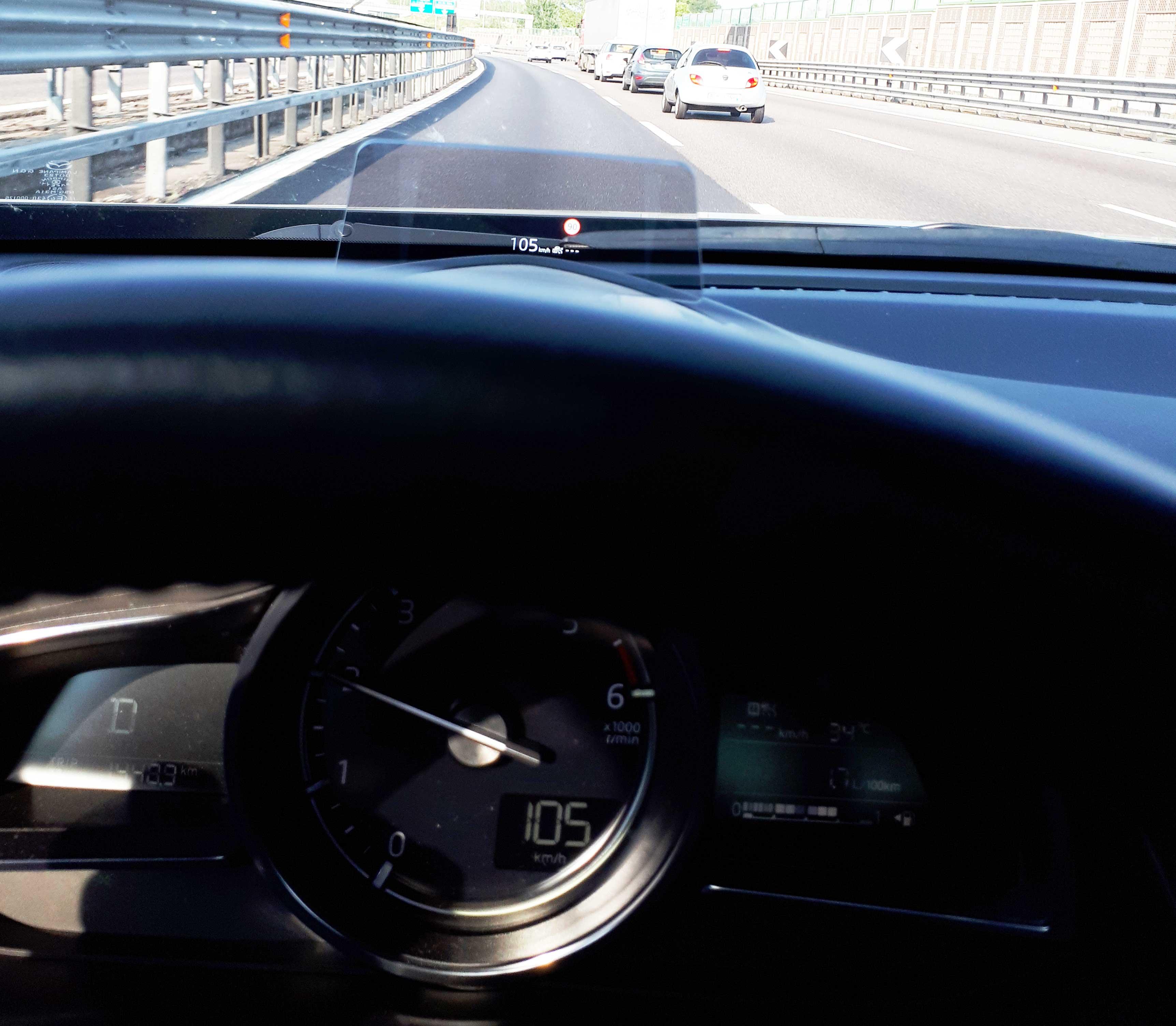 Prova su strada Mazda CX 3