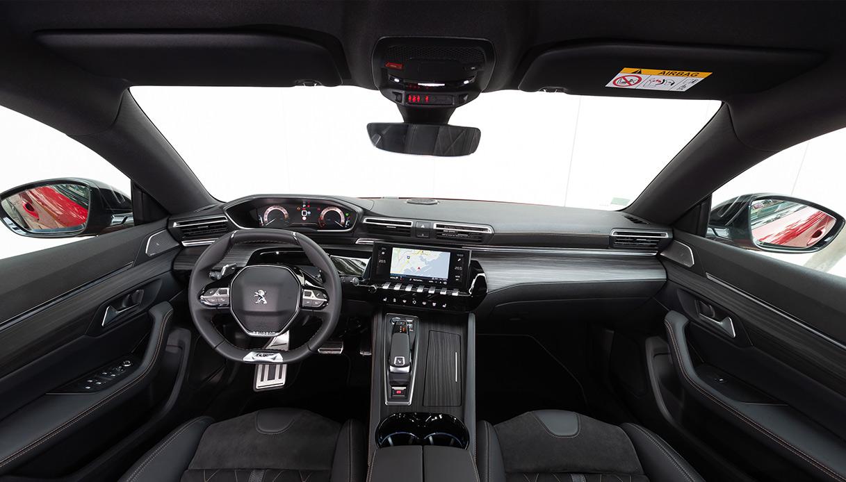 Peugeot 508 interno