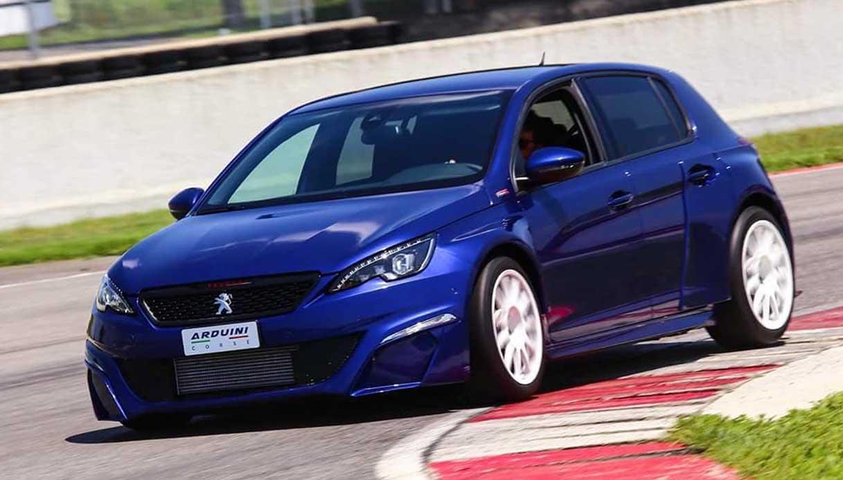 Ecco la nuova Peugeot 308 by Arduini Corse