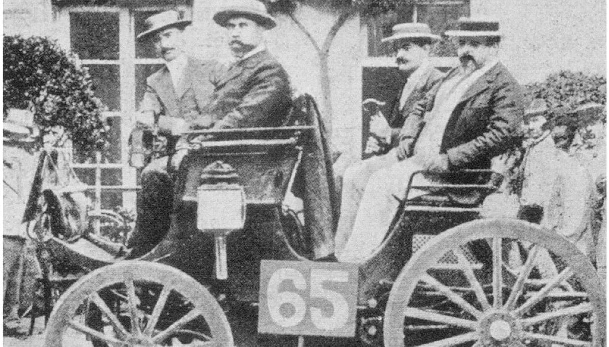 prima gara auto