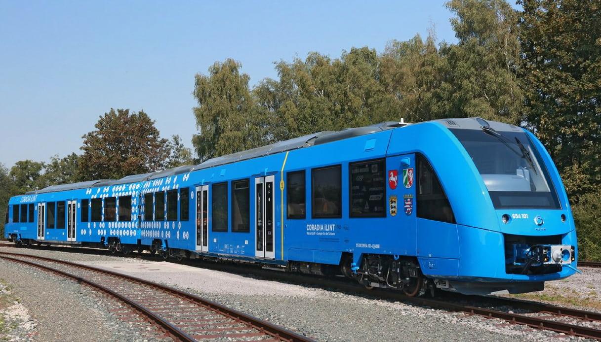 primo treno idrogeno