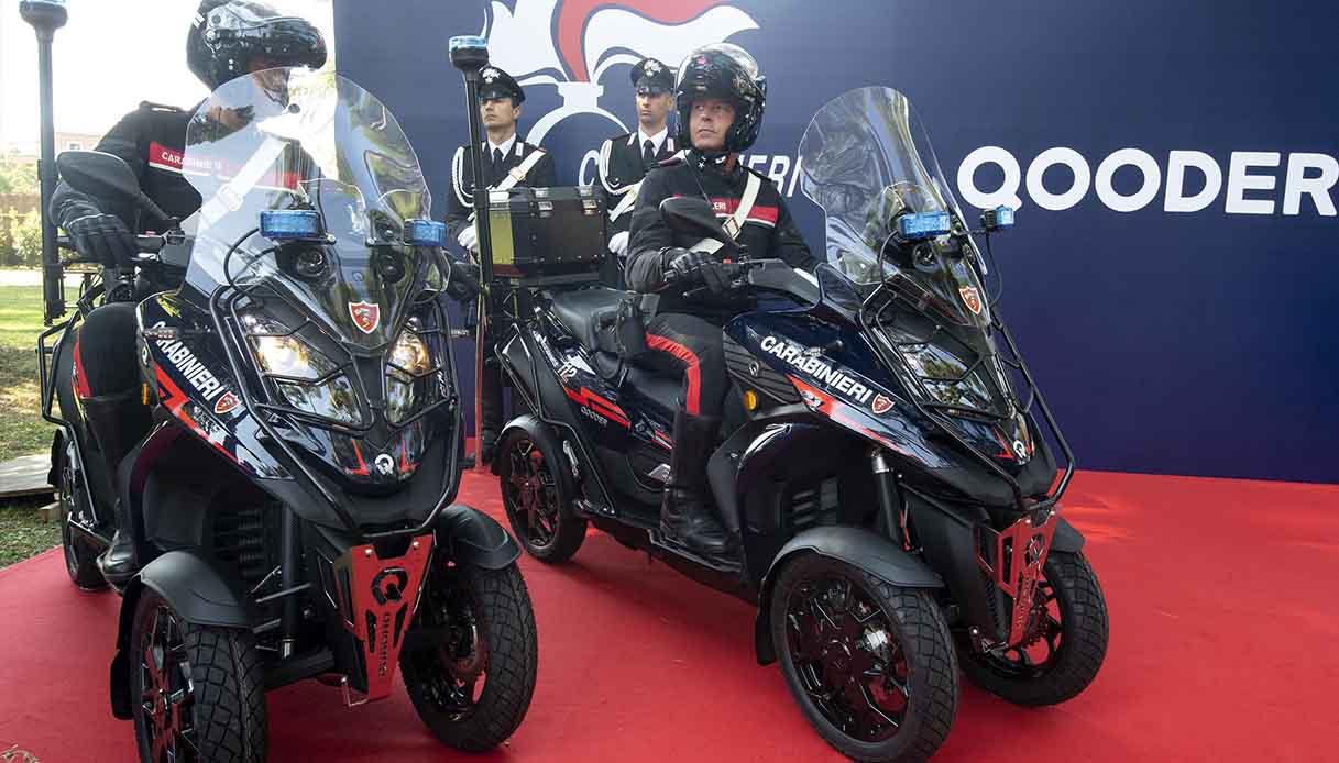 Qooder, la nuova dotazione dei Carabinieri