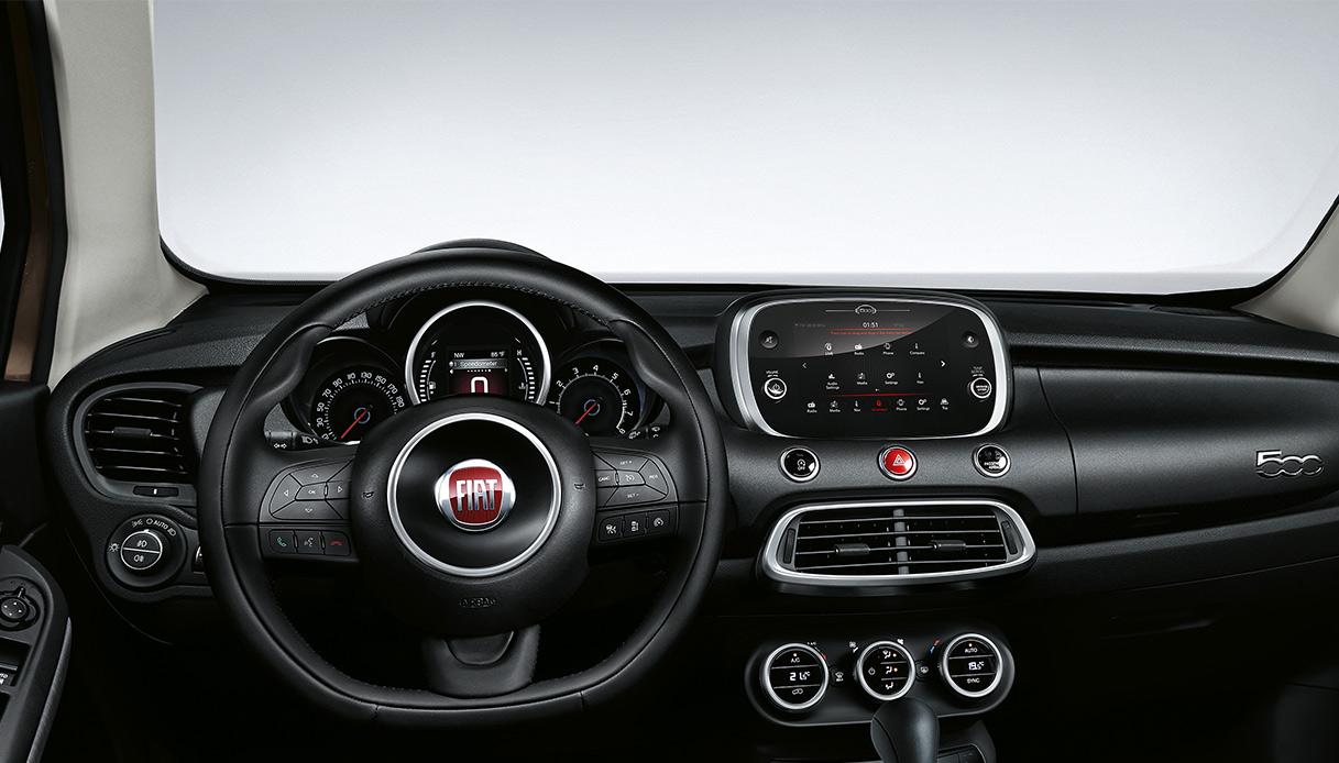 Fiat 500X 2018 Interno