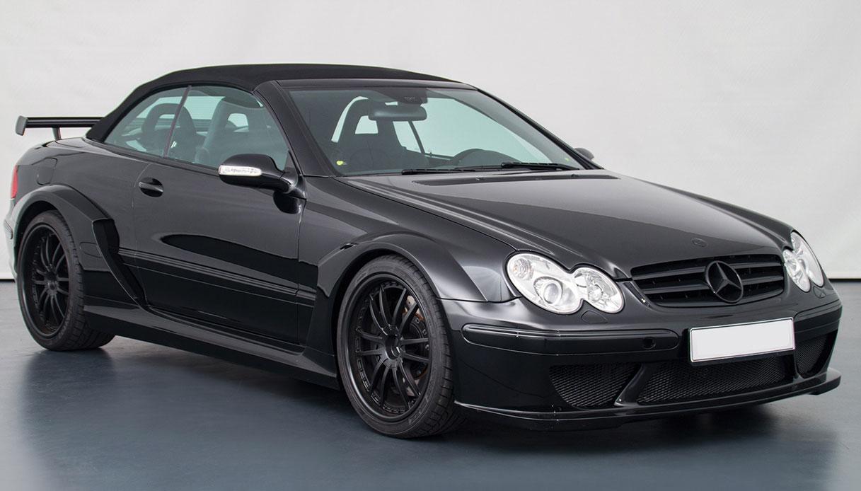 All'asta una delle più rare e veloci convertibili Mercedes di sempre