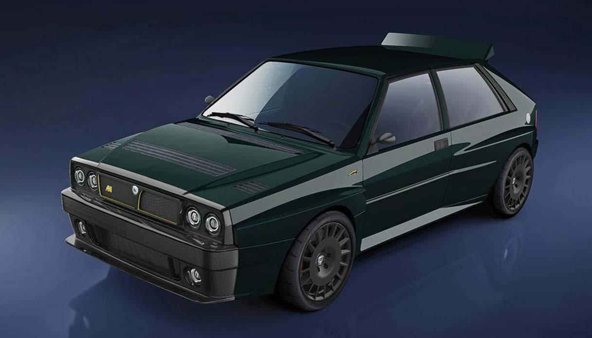 Lancia Delta torna in versione futurista