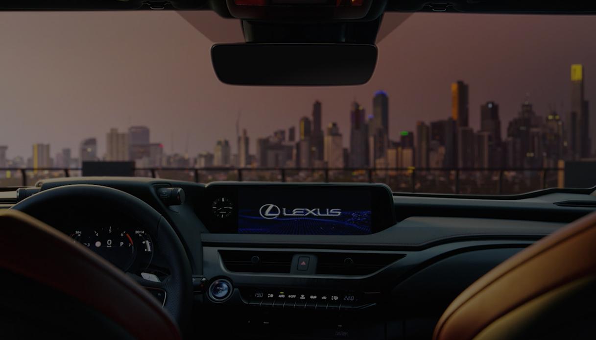 Lexus UX Interno