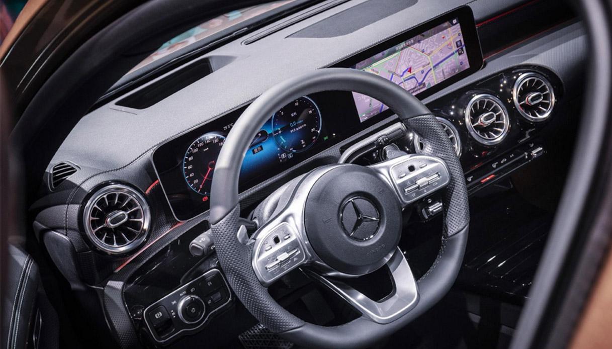 Mercedes Classe A Berlina interno