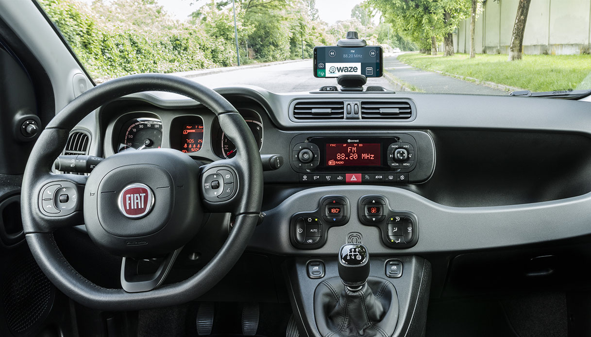 Fiat Panda Waze Interno