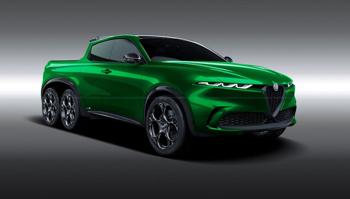 Alfa Romeo Tonale Pick Up 6x6