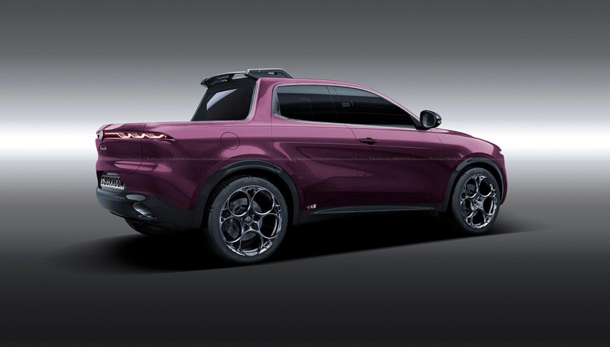 Alfa Romeo Tonale Pick Up