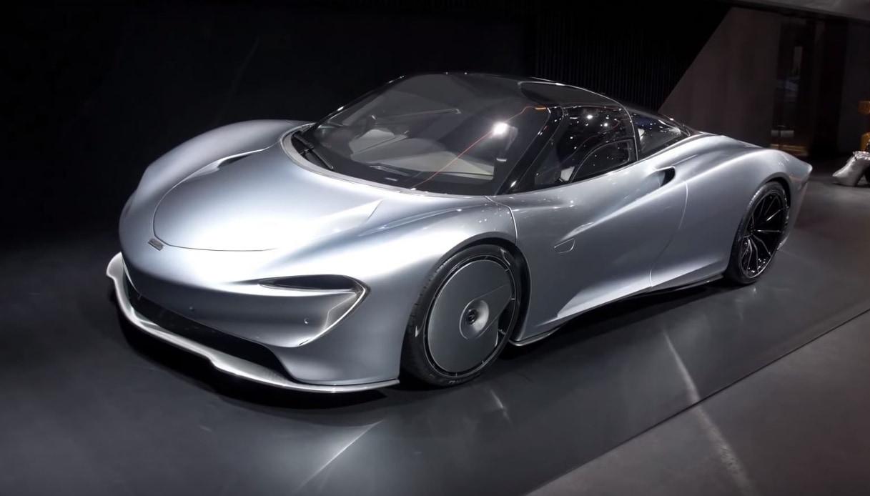 McLaren Speedtail Salone di Ginevra