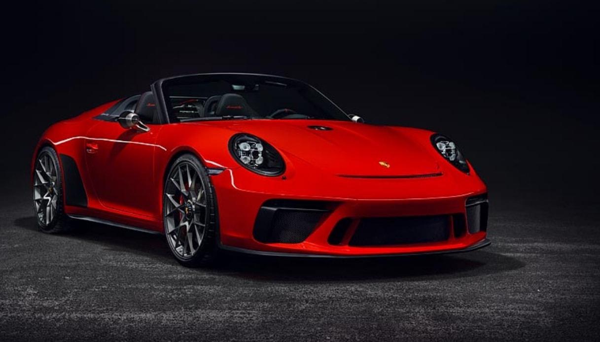 porsche 911 speedster limited edition