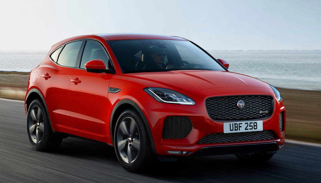 nuova jaguar e-pace