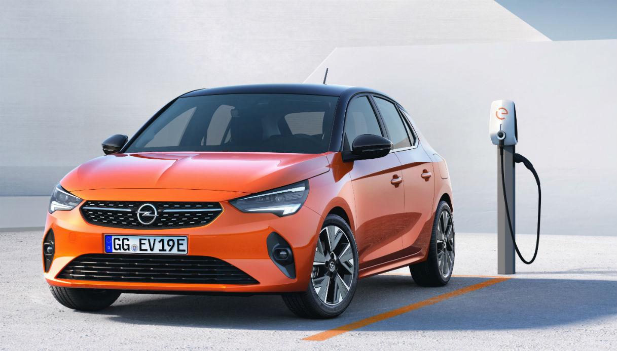 Opel corsa elettrica