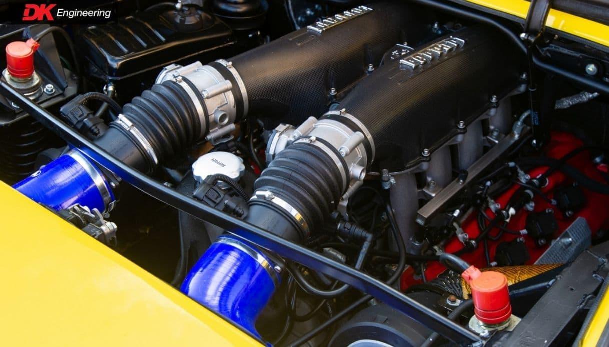 ferrari mondial t motore f430