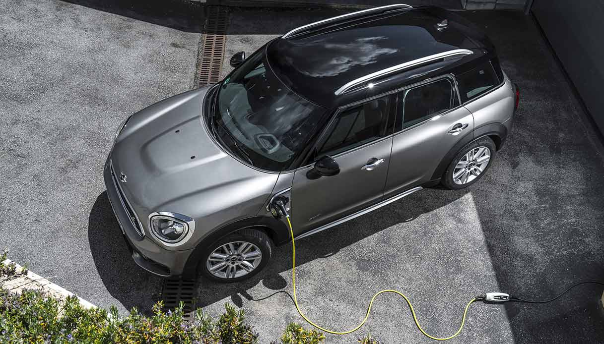 Mini countryman sotto carica