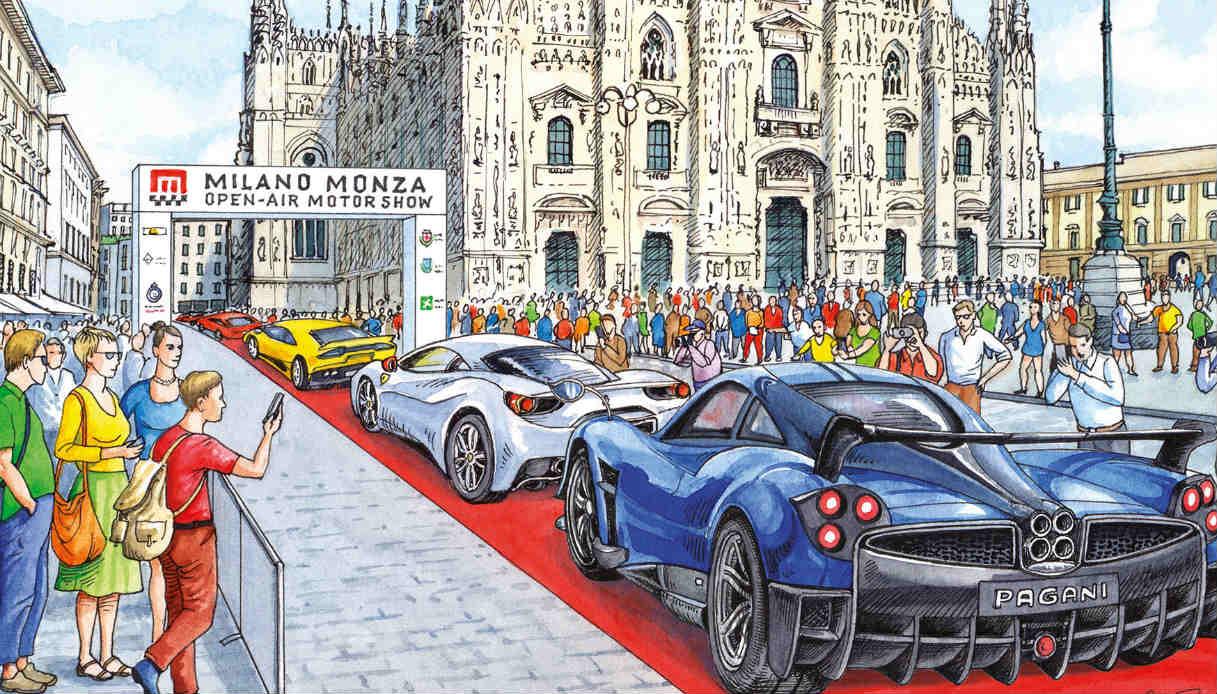 Salone dell'auto a Monza: tutte le anticipazioni