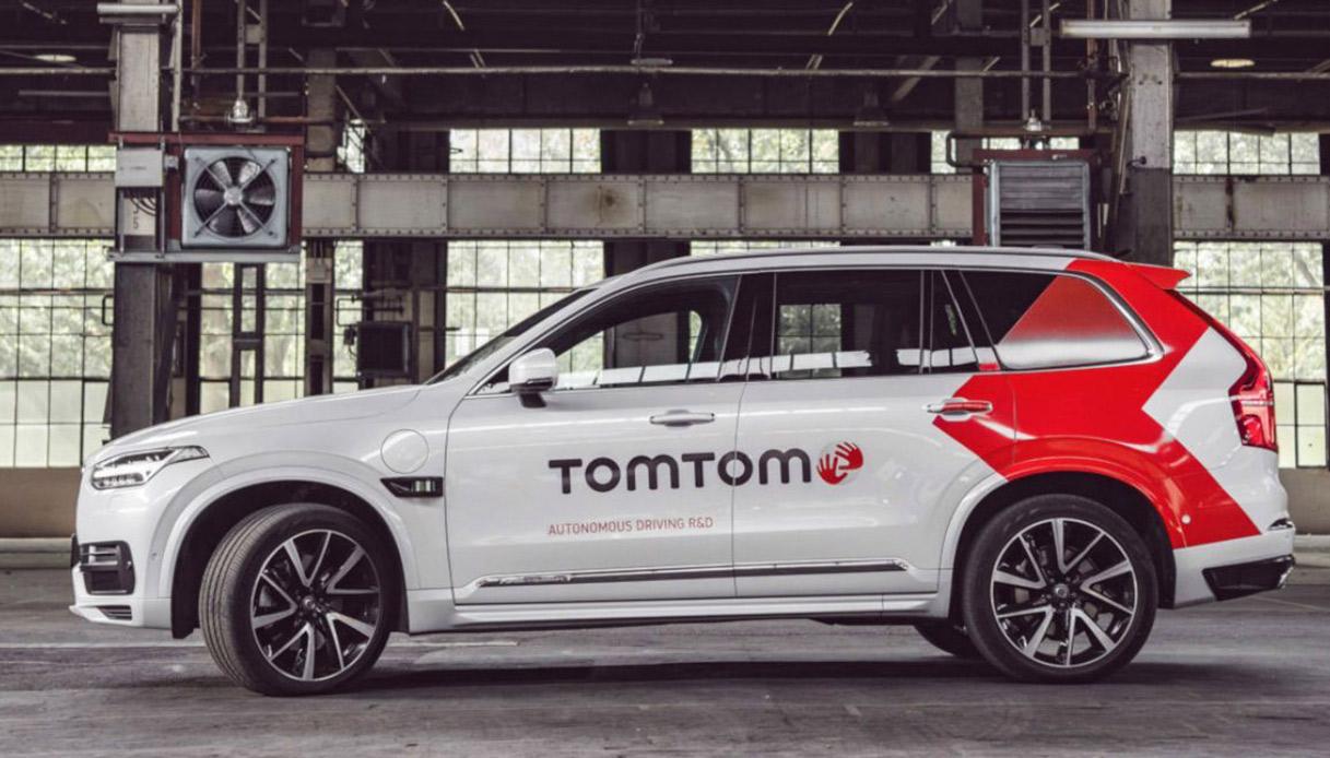 Auto a guida autonoma di TomTom