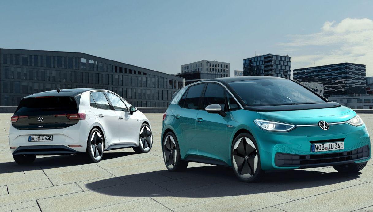 Volkswagen ID.3, finalmente svelate le immagini dell'elettrica
